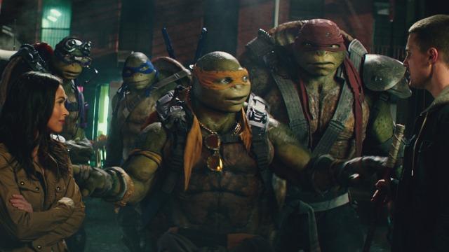 Rede Globo exibe hoje na Temperatura Máxima o filme: As Tartarugas Ninja - Fora Das Sombras