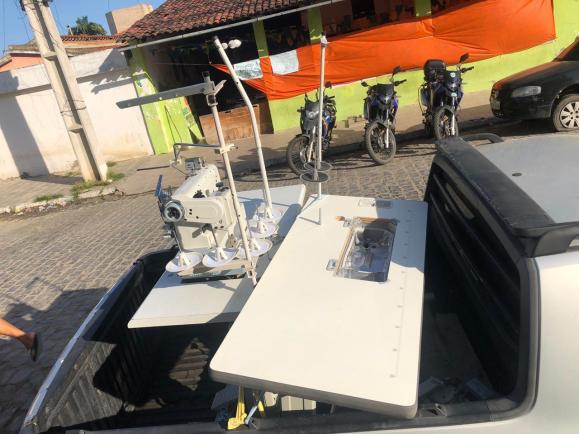 Polícia recupera máquinas de costura roubadas em Santa Cruz do Capibaribe