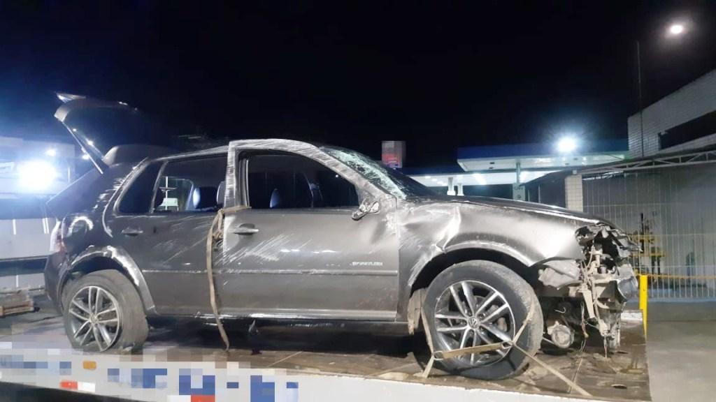 Suspeitos de assalto são detidos após capotar carro no Cabo de Santo Agostinho