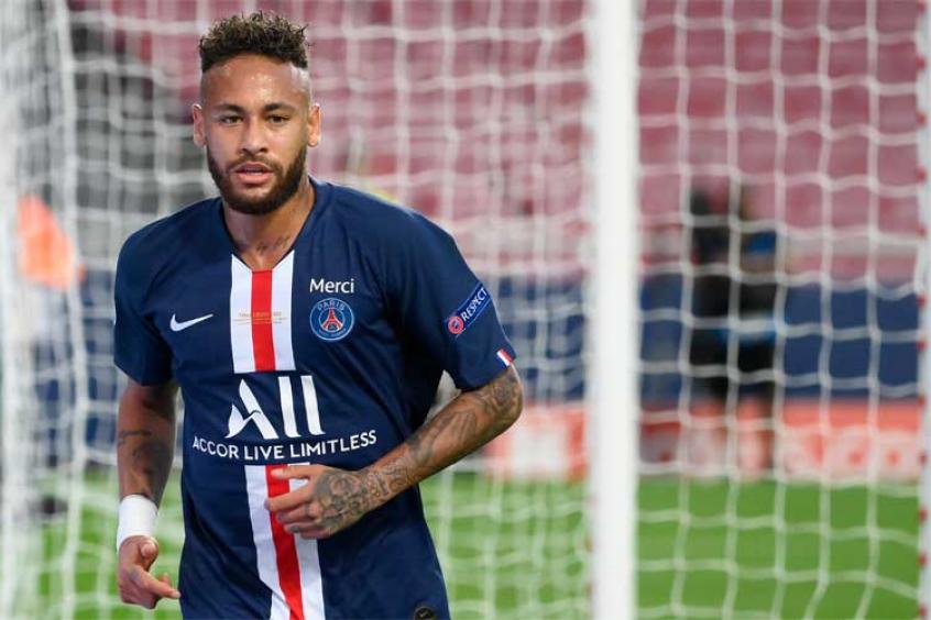 Neymar está com o novo coronavírus