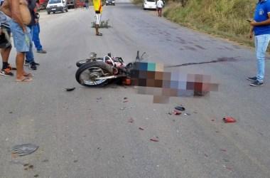 Hoje: duas pessoas morrem em acidente grave na PE-095 em Passira
