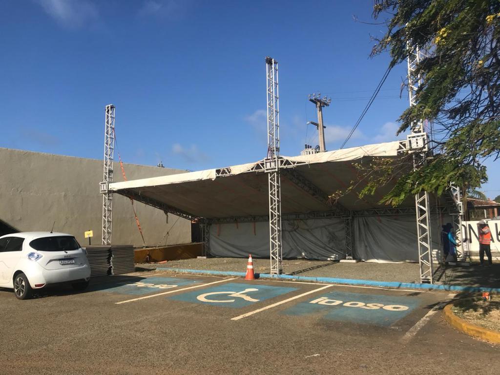 Fernando de Noronha prepara estrutura para testagem da COVID-19 em turista