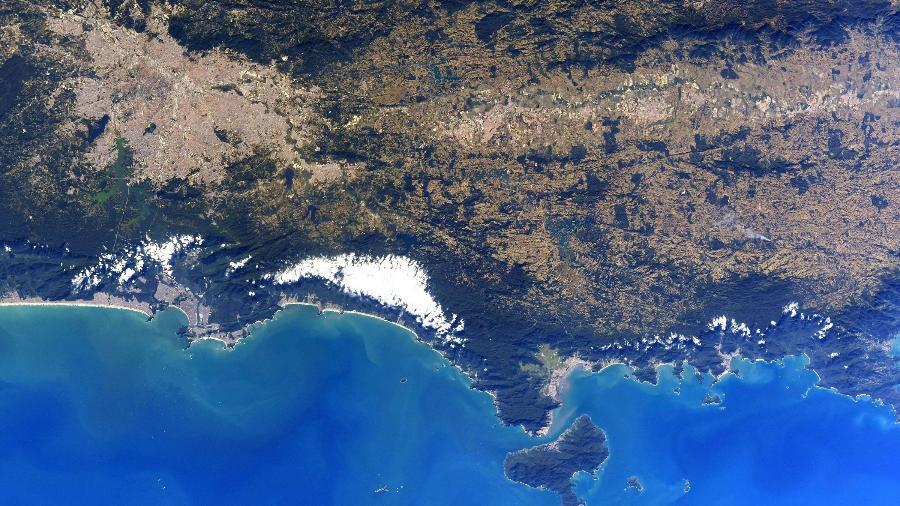 NASA: Astronauta Christopher Cassidy tira foto de São Paulo na Estação Espacial Internacional