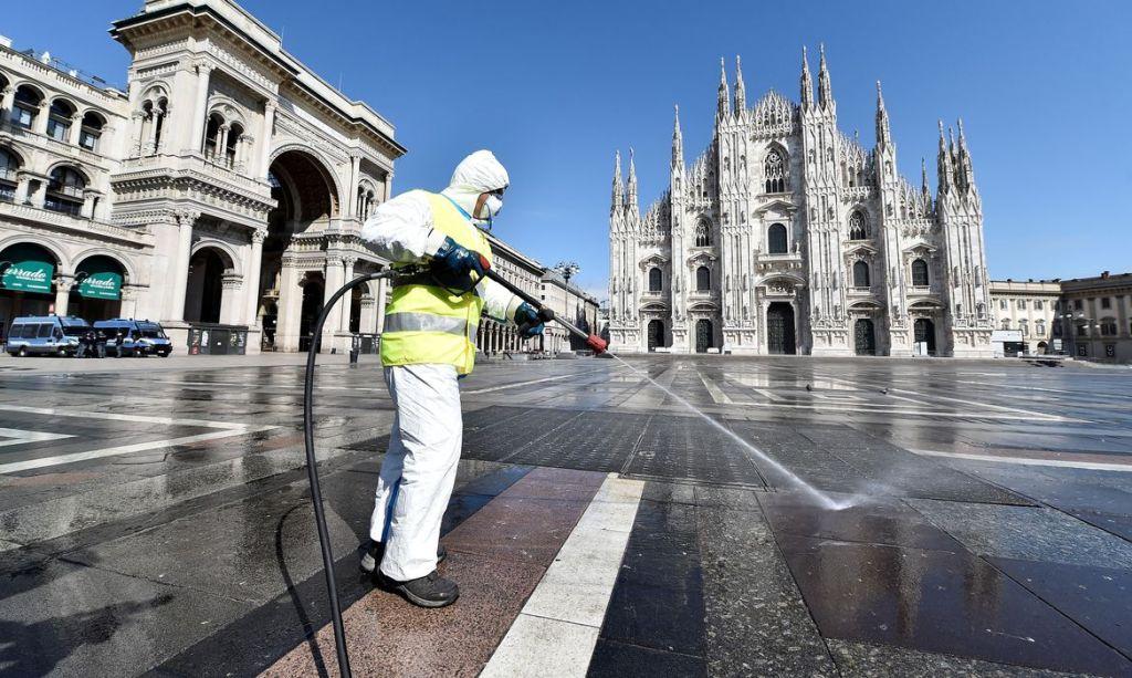 Casos de covid-19 na Itália atingem novo recorde diário