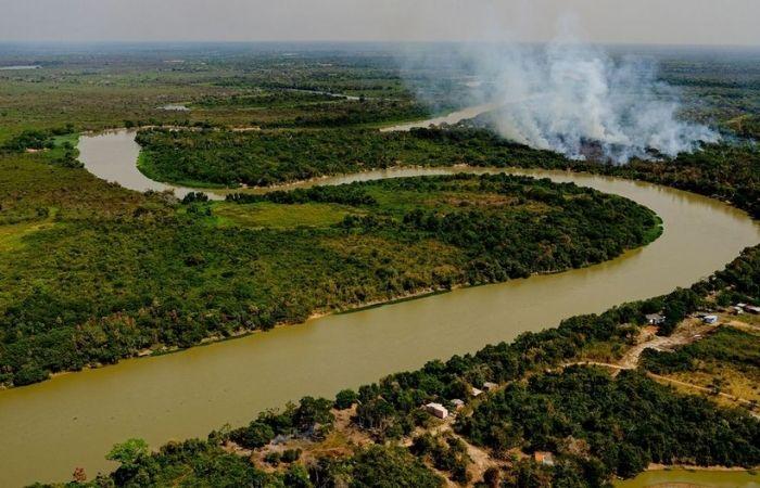 Helicóptero da Força Nacional cai em Mato Grosso