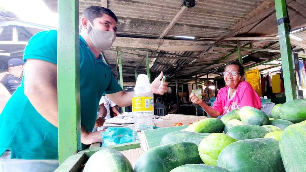Daniel Alves garante limpeza padrão, segurança e restaurante popular para as feiras de Jaboatão