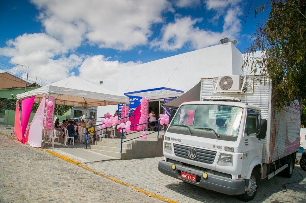 Gravatá: Caminhão da mamografia chega à UBS da Boa Vista