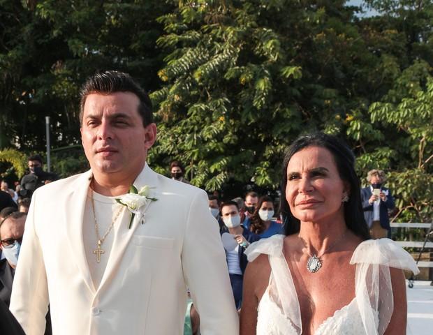 Cantora Gretchen se casa pela 18ª vez