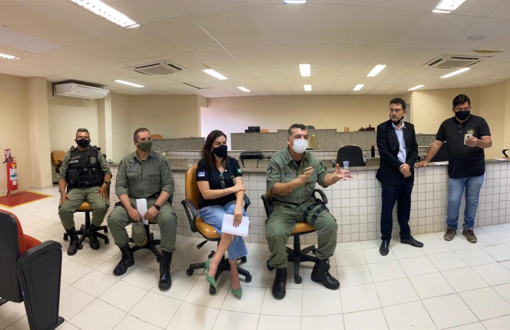 GRAVATÁ: Polícia Federal, PRF, Polícia Militar, Guarda Municipal e Polícia Civil nas ruas da cidade