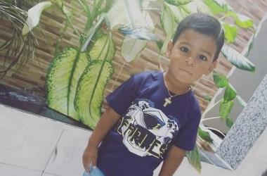 Fatalidade: Menino de três anos morre atropelado por caminhonete
