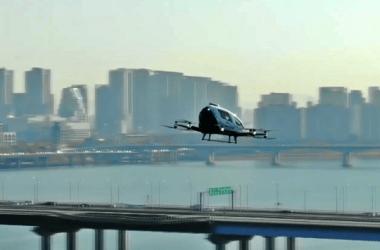 Táxi voador é inaugurado na Coreia do Sul e prova que o 'futuro é agora'