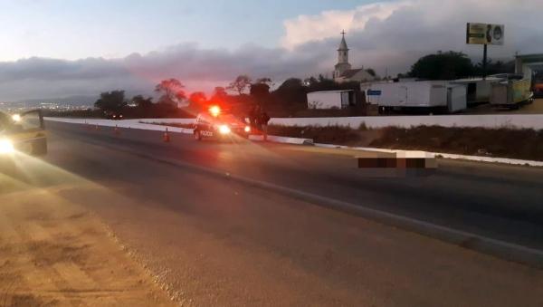 Homicídio registrado na BR-104 em Caruaru
