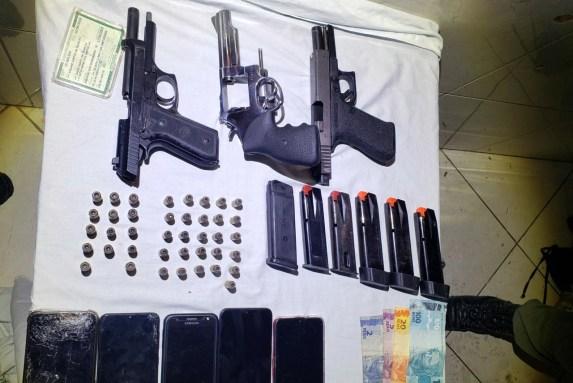PM prende, em quarto de Motel, seis suspeitos de homicídio em Escada