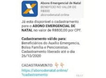 Cuidado: Abono emergencial de natal é mais um golpe de fim de ano