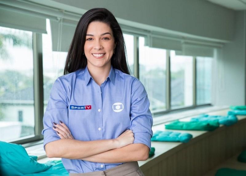 Renata Silva será a primeira mulher a narrar jogo de futebol na TV GLOBO
