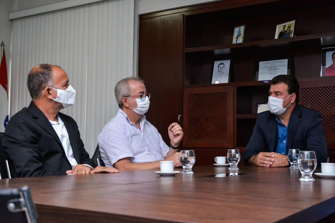 Prefeito de Gravatá Padre Joselito é recebido pelo prefeito de Sairé