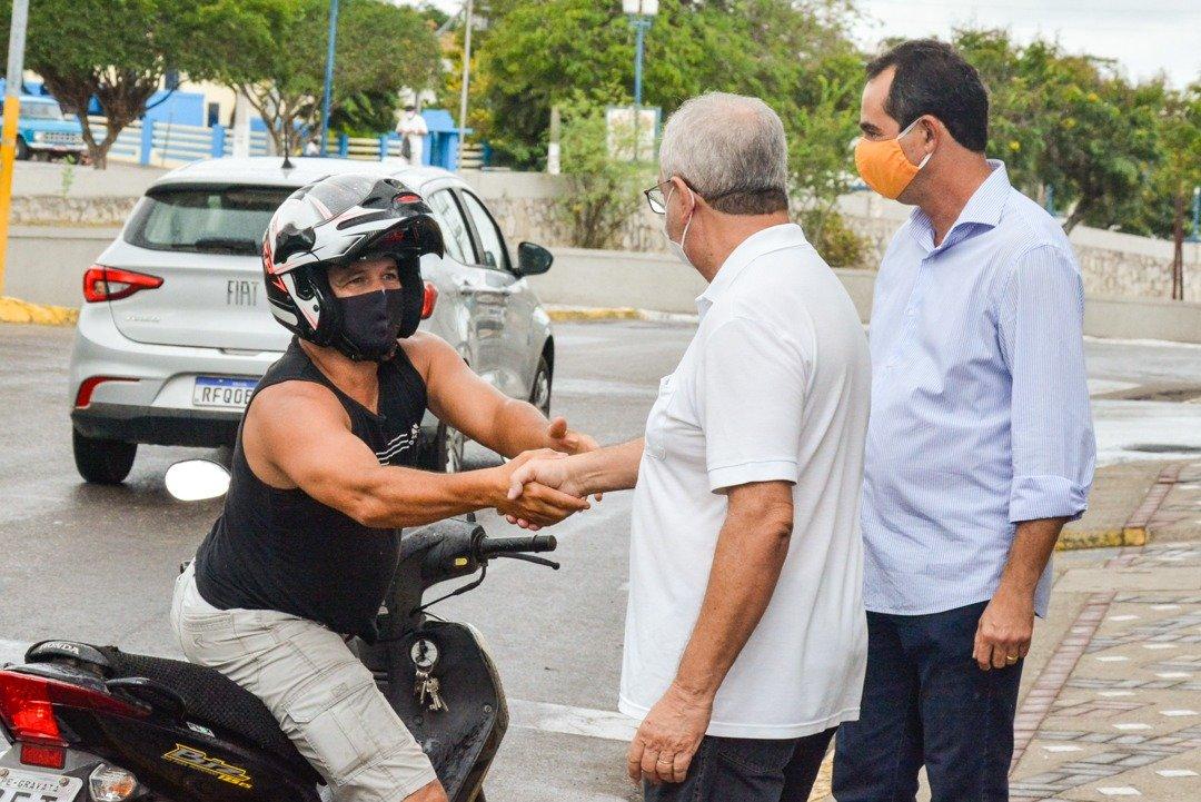 O novo prefeito de Gravatá dá início às atividades do Executivo Municipal