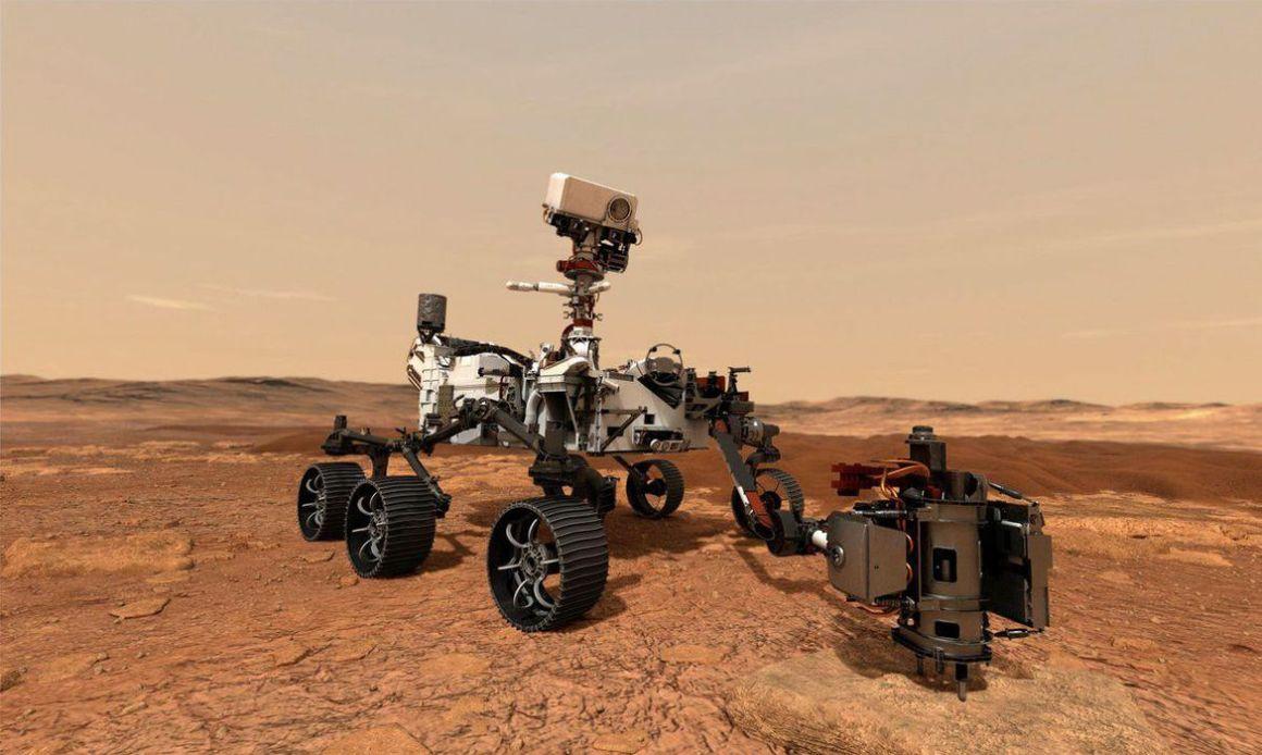 Perseverance pousa hoje em Marte, na busca por sinais de vida