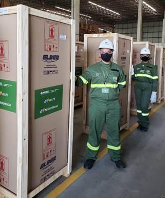CELPE inicia entrega de geladeiras para vacinas em Pernambuco