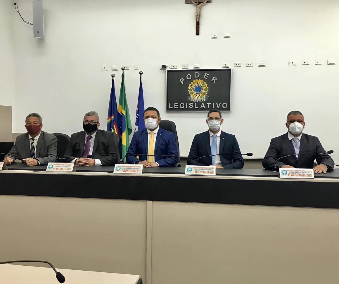 Bruno Sales se mantém vice-presidente da Câmara Municipal de Gravatá e comemora vitória