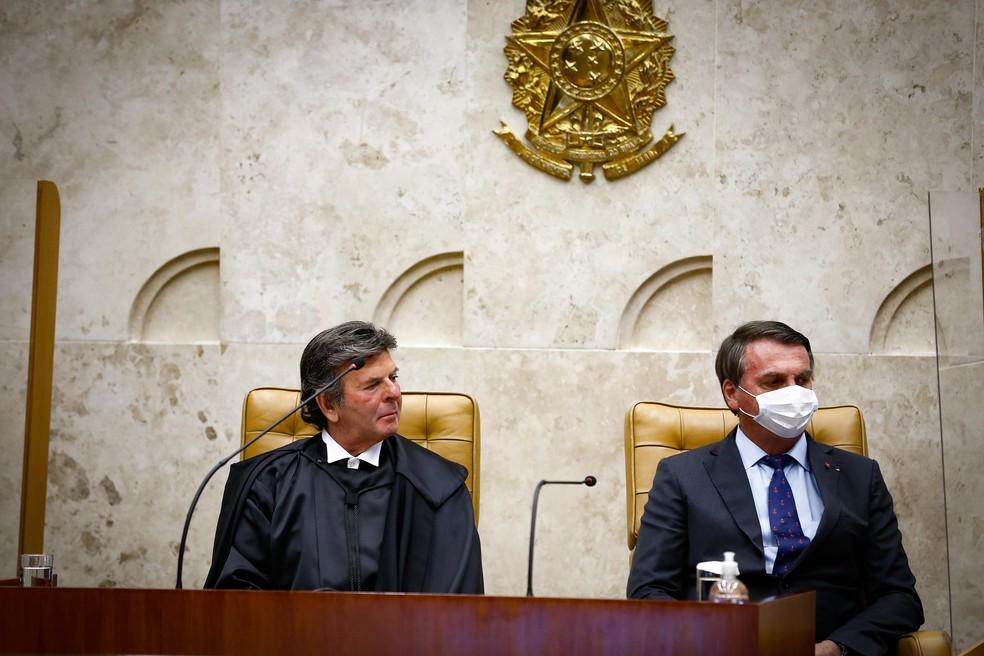 Após ser procurado pelo presidente do STF, Bolsonaro nega cogitação de 'estado de sítio' no Brasil