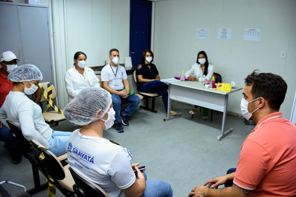 Após quatro anos as duas equipes de Unidades de Saúde da Família do CAIC estão completas em seus atendimentos