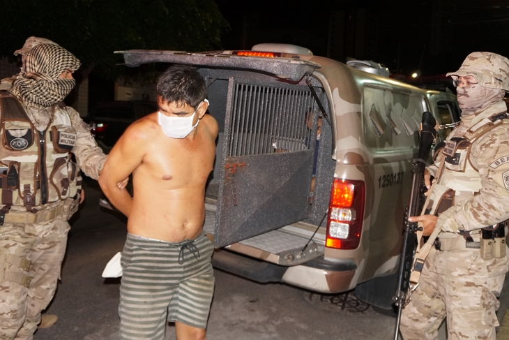 Assaltante de banco procurado no norte e nordeste é preso em Taquaritinga do Norte