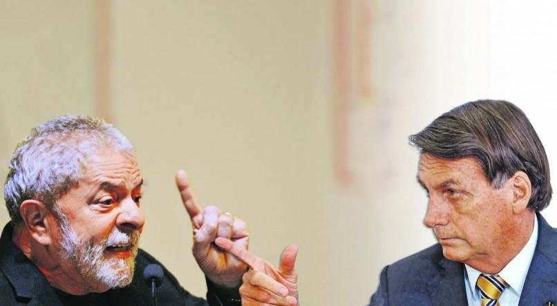 Pesquisa mostra Lula e Bolsonaro tecnicamente empatados