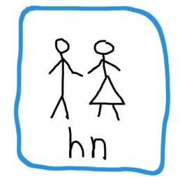 hn - til brug istedet for 'han eller hun'-udtrykkket