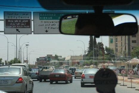 Ruch uliczny na Bliskim Wschodzie
