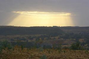 Natura w Etiopii to wielki rozmach. (Fot. Marcin Michalski)