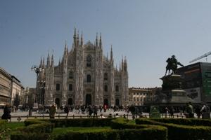 Katedra, której miniaturką oberwał Silvio Berlusconi. (Fot. Ewa Serwicka)