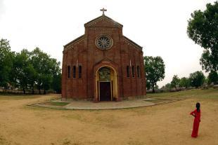 Kościół w Rejaf. (Fot. Jakub Pająk)