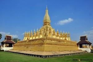 """Pha That Luang jest najważniejszym """"pomnikiem"""" i symbolem Laosu. (Fot. www.loswiaheros.pl)"""