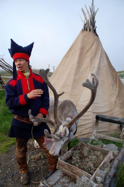 Saamowie to pierwotni mieszkańcy Norwegii. (Fot. Andrzej Juda)