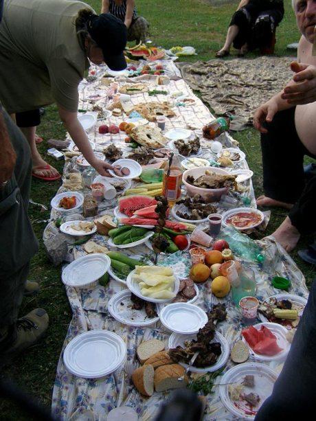 Gruzini to niezwykle gościnny naród. (Fot. Wioletta Kubiczek)