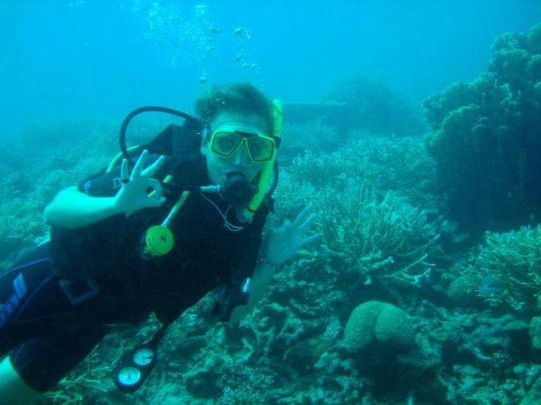 Nurkowanie w czystych wodach Morza Andamańskiego to niesamowita przyjemność. (Fot. Karolina Sypniewska)