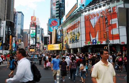 W Nowym Jorku jest tak, że bez względu na to, w którą stronę skręcisz, gdzie się udasz to zawsze czeka na Ciebie jakaś niespodzianka. (Fot. Paweł Bielecki)