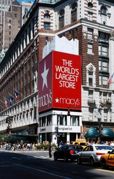 Macys - najbardziej przereklamowane miejsce w Nowym Jorku. (Fot. Paweł Bielecki)