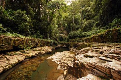 Piscina - naturalnie wydrążony basen nieopodal Betanii. (Fot. Joanna M. Chrzanowska)