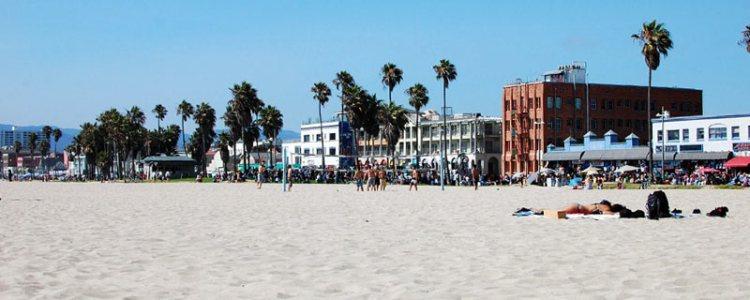 Co warto zobaczyć w Los Angeles? Na pewno plaże... (Fot. Paweł Bielecki)