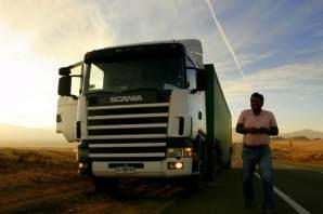 W końcu zaczęła się autostopowa żegluga przez Chile. (Fot. Kuba Fedorowicz)