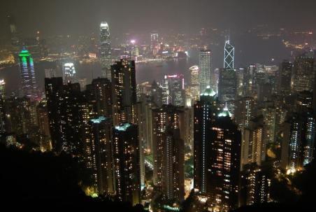 Hongkong to prawdziwe miasto przyszłości. (Fot. Rafał Sigiel)