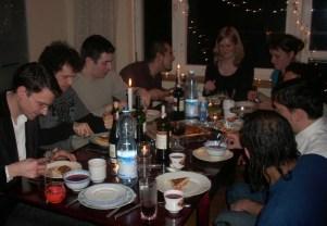 Barszcz i kapusta z grochem stanęły obok tortilli i innych przysmaków z różnych zakątków świata. (Fot. Kinga Jabłońska)