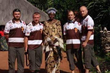 Ekipa Afryki Nowaka w Kongo