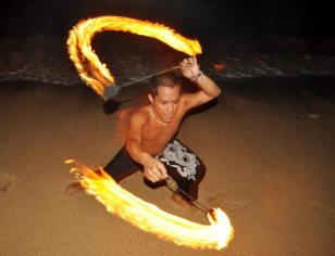 Filipiny - zabawy na plaży