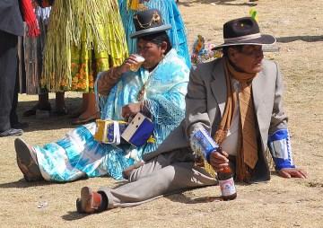 5. Boliwia, Isla del Sol. …lub posiedzieć z mężem. (Fot. Maja Szymańczak)