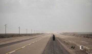 Pedałując na krańce świata takie można spotkać krajobrazy. (Fot. Mateusz Waligóra)