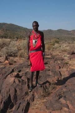 Kenia, Simat - masajski wojownik