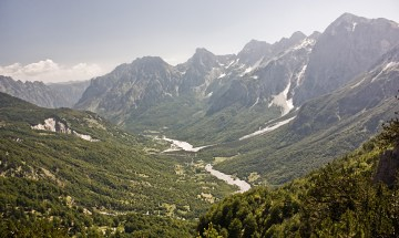 Góry w Alabanii